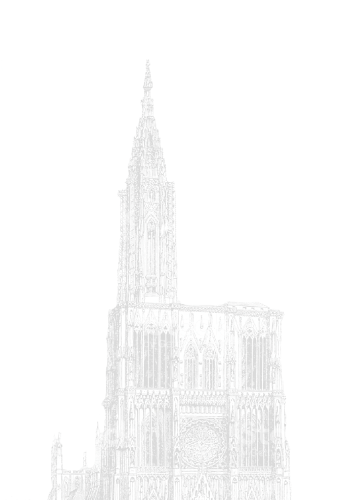 Gravure cathédrale